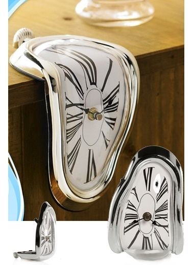 Practika Melting Clock Eriyen Saat Renkli